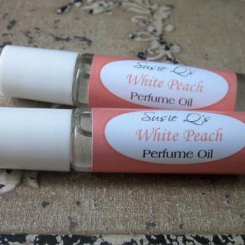 White Peach Perfume Oil